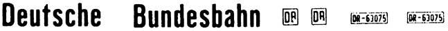 1:87 Beschriftung Deutsche Bundesbahn - Weinert 4401  | günstig bestellen bei Modelleisenbahn Center  MCS Vertriebs GmbH