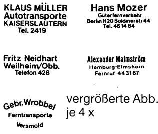 1:87 Beschriftung für LKW-Türen - Weinert 4410  | günstig bestellen bei Modelleisenbahn Center  MCS Vertriebs GmbH