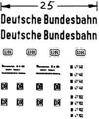 1:87 Beschriftung Deutsche Bundesbahn - Weinert 4417  | günstig bestellen bei Modelleisenbahn Center  MCS Vertriebs GmbH