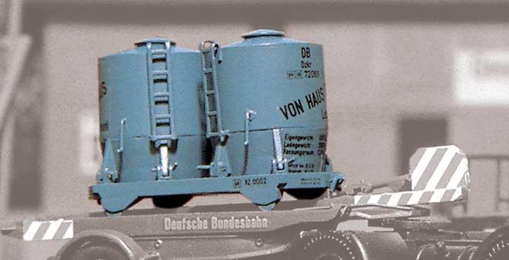 1:87 Behälter Haus-zu-Haus auf Transportschiene - Weinert 4420  | günstig bestellen bei Modelleisenbahn Center  MCS Vertriebs GmbH