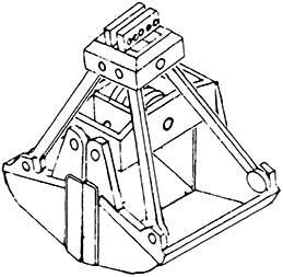 1:87 Baggerschaufel gross für Kohlenkran, 1 Stück- Weinert 4423  | günstig bestellen bei Modelleisenbahn Center  MCS Vertriebs GmbH