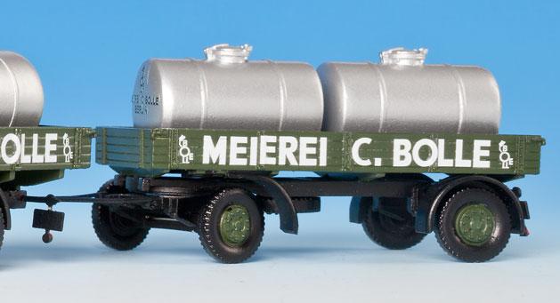 1:87 Anhänger mit 2 Milchtanks - Weinert 45010  - passend zu Michtransport 45009   günstig bestellen bei Modelleisenbahn Center  MCS Vertriebs GmbH