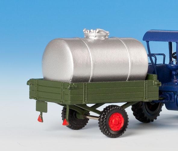 1:87 Anhänger mit 1 Milchtank - Weinert 45011  - passend zu Michtransport 45009   günstig bestellen bei Modelleisenbahn Center  MCS Vertriebs GmbH