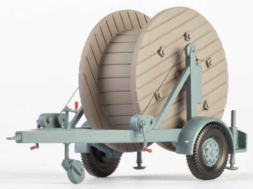 1:87 Anhänger mit Kabelrolle - Weinert 45013    günstig bestellen bei Modelleisenbahn Center  MCS Vertriebs GmbH