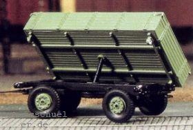 1:87 Anhänger 2-achsig mit Kippvorrichtung, (passend zu Lanz Eil-Bulldog) - Weinert 4509  | günstig bestellen bei Modelleisenbahn Center  MCS Vertriebs GmbH