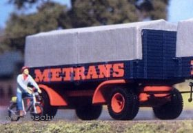 1:87 Anhänger 2-achsig mit hoher Holzstirnwand - Weinert 4516  | günstig bestellen bei Modelleisenbahn Center  MCS Vertriebs GmbH