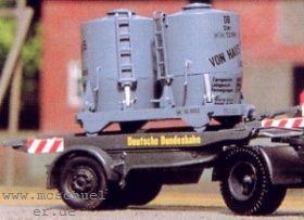 1:87 Ackermann Auflieger mit Haus zu Haus Zementbehälter - Weinert 4528  | günstig bestellen bei Modelleisenbahn Center  MCS Vertriebs GmbH