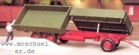 1:87 Zweiseitenkipper 3-achsig mit 2 Brücken - Weinert 4544  | günstig bestellen bei Modelleisenbahn Center  MCS Vertriebs GmbH