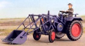 1:87 Lanz Halbdiesel-Schlepper 32 PS, Bj. 1955-56- Weinert 4585 Bausatz | günstig bestellen bei Modelleisenbahn Center  MCS Vertriebs GmbH
