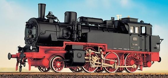 DB BR 74 4-13 - preuss. T12 mit DB Zeichen, Fertigmodell - Weinert 46151  - Messingmodell mit DCC-Decoder | günstig bestellen bei Modelleisenbahn Center  MCS Vertriebs GmbH