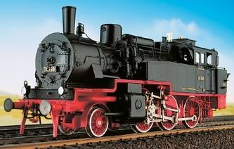 DB BR 74 4-13 - preuss. T12 - Deutsche Bundesbahn, Fertigmodell - Weinert 46161  - Messingmodell mit DCC-Decoder | günstig bestellen bei Modelleisenbahn Center  MCS Vertriebs GmbH
