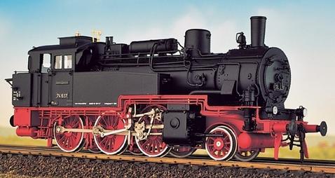 DRG BR 74 4-13 - preuss. T12 - Fertigmodell - Weinert 46171  - Messingmodell mit DCC-Decoder | günstig bestellen bei Modelleisenbahn Center  MCS Vertriebs GmbH