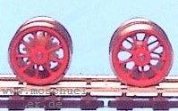 BR 01.10: RP25 Tenderradsätze für Roco BR 01.10 - Weinert  - 4 Stück mit Zahnrädern | günstig bestellen bei Modelleisenbahn Center  MCS Vertriebs GmbH