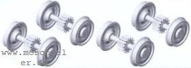 BR 10: RP25 Tenderradsätze für Rivarossi BR 10 - Weinert  | günstig bestellen bei Modelleisenbahn Center  MCS Vertriebs GmbH