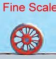 Tenderradsatz RP25 Fine Scale d=11,5mm, 9 Speichen-Weinert 56500  | günstig bestellen bei Modelleisenbahn Center  MCS Vertriebs GmbH