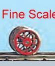 Vorlauf-Radsatz RP25 Fine Scale d=9,8mm, 9 Speichen-Weinert 56520  | günstig bestellen bei Modelleisenbahn Center  MCS Vertriebs GmbH