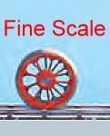 Tenderradsatz RP25 Fine Scale mit Haftreifen, d=11,5mm, 9 Speichen-Weinert 56530  | günstig bestellen bei Modelleisenbahn Center  MCS Vertriebs GmbH