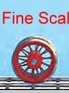 Vorlauf-Radsatz RP25 Fine Scale d=11,5mm, 12 Speichen mit Haftreifen Weinert 56570  | günstig bestellen bei Modelleisenbahn Center  MCS Vertriebs GmbH