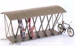 TT Fahrradständer überdacht für 12 Fahrräder, Messing-Ätzteile - Weinert 5838  | günstig bestellen bei Modelleisenbahn Center  MCS Vertriebs GmbH