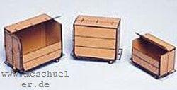 TT Klein-Container Ep.2-4, je 1 x 1,2,3 m³, MS-Ätzteil- Weinert 5850  | günstig bestellen bei Modelleisenbahn Center  MCS Vertriebs GmbH