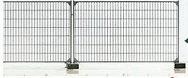 1:120 Bauzaun für Baustellen, L=35cm - Weinert 5873  | günstig bestellen bei Modelleisenbahn Center  MCS Vertriebs GmbH