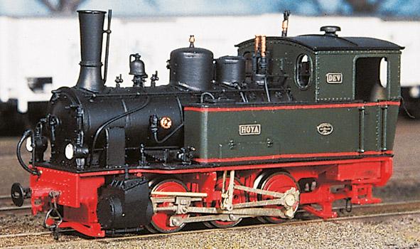 H0m Hoya - Schmalspur-Dampflok in Museums- und historischer Ausführung - Weinert 6206 - mit Mabuchi-Motor | günstig bestellen bei Modelleisenbahn Center  MCS Vertriebs GmbH