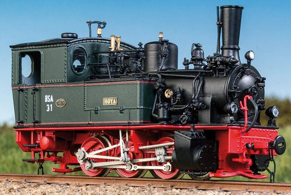 H0m Hoya - Schmalspur-Dampflok in 50er-60er-Jahre-Ausführung - Weinert 62061 - mit Mabuchi-Motor | günstig bestellen bei Modelleisenbahn Center  MCS Vertriebs GmbH