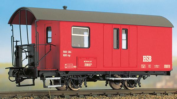 H0m HSB Gepäckwagen 2-achsig - Weinert 6250  | günstig bestellen bei Modelleisenbahn Center  MCS Vertriebs GmbH