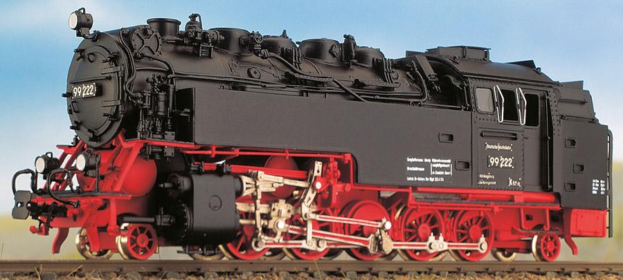 H0m BR 99 222-99 7222 - Zwischenausführung der DR - Weinert 6261 - mit Mashima-Motor | günstig bestellen bei Modelleisenbahn Center  MCS Vertriebs GmbH