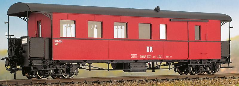 H0m HSB Gepäckwagen 4-achsig - Weinert 6232  - Teil des historischen Zugs der HSB | günstig bestellen bei Modelleisenbahn Center  MCS Vertriebs GmbH