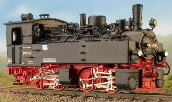 H0m BR 99 5901-5905 mit Saugluftbremse - Weinert 6266 - mit Mabuchi-Motor | günstig bestellen bei Modelleisenbahn Center  MCS Vertriebs GmbH