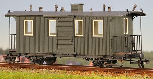 H0m Gepäckwagen 2-achsig - Weinert 6286  | günstig bestellen bei Modelleisenbahn Center  MCS Vertriebs GmbH