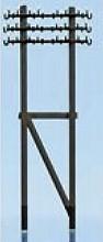 1:220 Telegrafenmasten, doppelt, 6 Stück-Weinert 6885  | günstig bestellen bei Modelleisenbahn Center  MCS Vertriebs GmbH