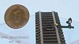 N Gleissperre, Attrappe, Messinggußteil- Weinert 6923  | günstig bestellen bei Modelleisenbahn Center  MCS Vertriebs GmbH