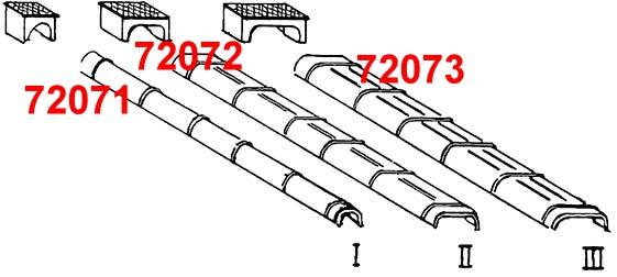 1:87 Blechkanäle und Rollenkästen, Gr.1, 10 Stück-Weinert 72071  | günstig bestellen bei Modelleisenbahn Center  MCS Vertriebs GmbH