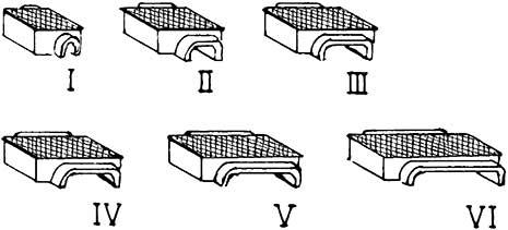 TT Druckrollenkästen unterirdisch, 5xGr.I, 4xGr.II, 2xGr.III, je 1xGr.IV,V,VI, WM - Weinert 5810  | günstig bestellen bei Modelleisenbahn Center  MCS Vertriebs GmbH
