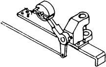 1:87 H0e-H0m Weichenstellvorrichtung für Schmalspurweichen- Weinert 7230  | günstig bestellen bei Modelleisenbahn Center  MCS Vertriebs GmbH