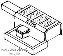 1:87 Weichenantriebsattrappe für elektrische Antriebe S 700- Weinert 7231  | günstig bestellen bei Modelleisenbahn Center  MCS Vertriebs GmbH