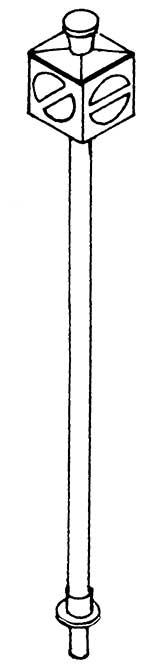 1:87 Gleissperre hohe Ausführung für Drehscheiben, beleuchtbar- Weinert 7235  | günstig bestellen bei Modelleisenbahn Center  MCS Vertriebs GmbH