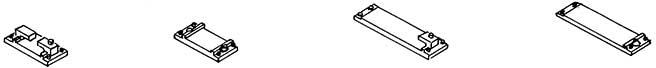 Schienenfüsschen für Code 80 Profil, zum Nageln, 48 Stück-Weinert 7250  | günstig bestellen bei Modelleisenbahn Center  MCS Vertriebs GmbH