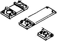 Schienenfüsschen für Code 75 Profil, geätzt, für den Weichenselbstbau-Weinert 7255  | günstig bestellen bei Modelleisenbahn Center  MCS Vertriebs GmbH