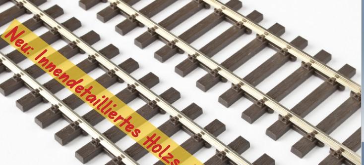 MG Code 75 Flexgleis mit innendetaillierten Holzschwellen, L=92cm - Weinert MeinGleis 74004 - Vorteilspackung mit 12 Stück | günstig bestellen bei Modelleisenbahn Center  MCS Vertriebs GmbH