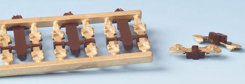 MG Code 75 Isolierschienenverbinder, 8 Stück - Weinert MeinGleis 74018  | günstig bestellen bei Modelleisenbahn Center  MCS Vertriebs GmbH