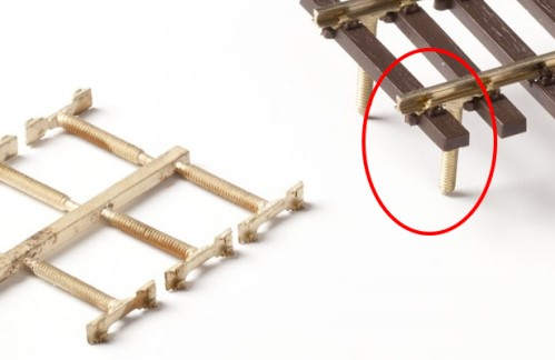 MG Code 75 Schienenverbinder mit angegossener Schraube, 8 Stück - Weinert MeinGleis 74019  - für Modulübergänge | günstig bestellen bei Modelleisenbahn Center  MCS Vertriebs GmbH