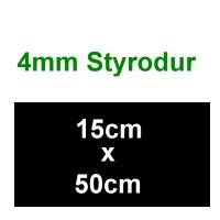 Schalldämmung 4mm Platte Styrodur, 150 x 500mm - Weinert 74221 - ideal als Füllplatte zwischen den Gleisen | günstig bestellen bei Modelleisenbahn Center  MCS Vertriebs GmbH