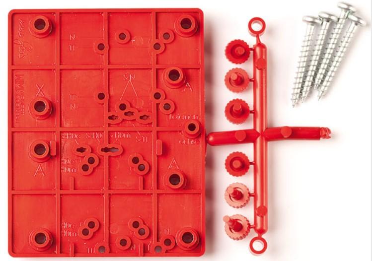 Bohrschablone für Weichenantrieb 74300-Weinert 74301  | günstig bestellen bei Modelleisenbahn Center  MCS Vertriebs GmbH