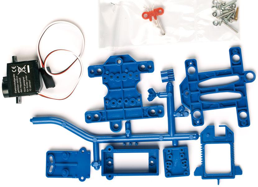 Weichenantrieb für DKW mit Servo-Motor - Weinert 74309 - verstärkte Ausführung | günstig bestellen bei Modelleisenbahn Center  MCS Vertriebs GmbH