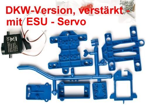 Weichenantrieb für DKW mit ESU-Servo - Weinert 74316  - verstärkte Ausführung | günstig bestellen bei Modelleisenbahn Center  MCS Vertriebs GmbH