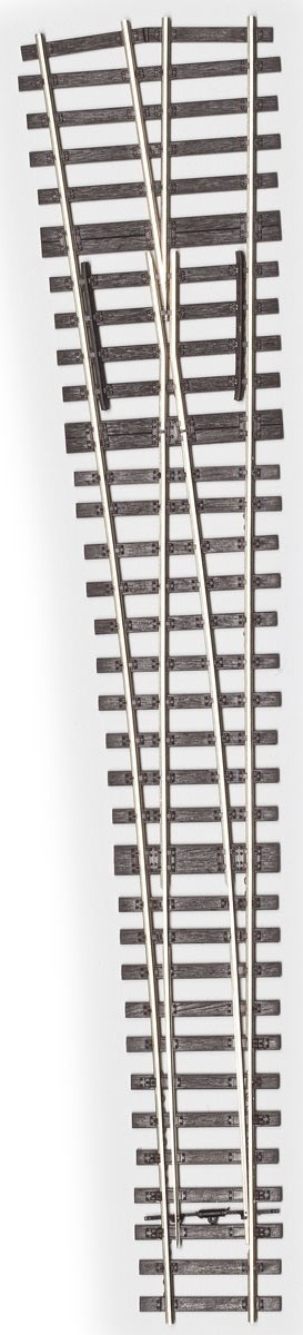 MG Code 75 Weiche 1:6,6 kurz links - Weinert MeinGleis 74501  | günstig bestellen bei Modelleisenbahn Center  MCS Vertriebs GmbH