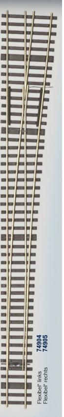 MG Code 75 Schwellenrost für Weiche rechts 6,3° - Weinert MeinGleis  | günstig bestellen bei Modelleisenbahn Center  MCS Vertriebs GmbH